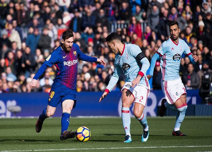 مباراة برشلونة وسيلتا فيجو بث مباشر